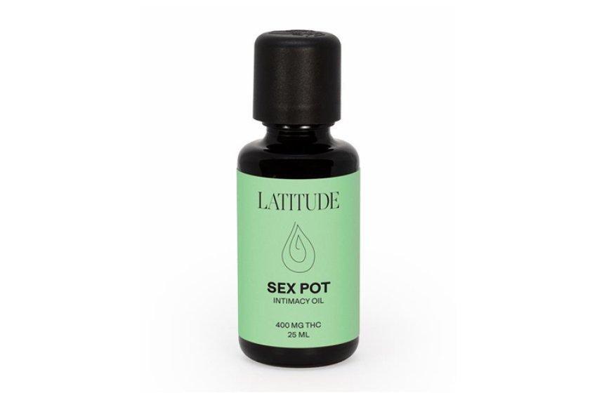 Latitude Sex Pot Intimacy Oil, $49, 48nrth.com