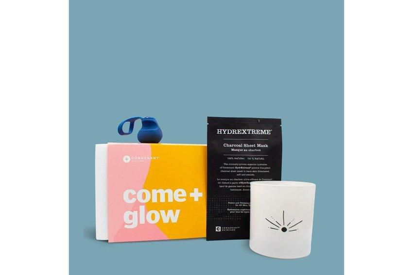 Consonant Skin + Care Come + Glow Box, $175, consonantskincare.com